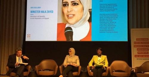 وزيرة الصحة تشارك بحلقة نقاشية بشأن تمويل احتياجات تنفيذ المؤتمر الدولي للسكان والتنمية