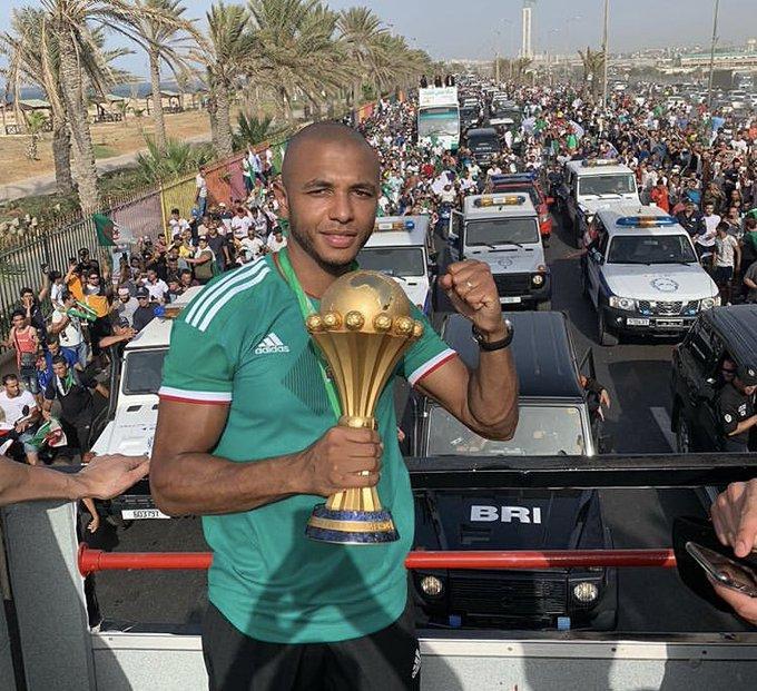 استقبال تاريخي لمنتخب الجزائر بعد التتويج الأفريقي