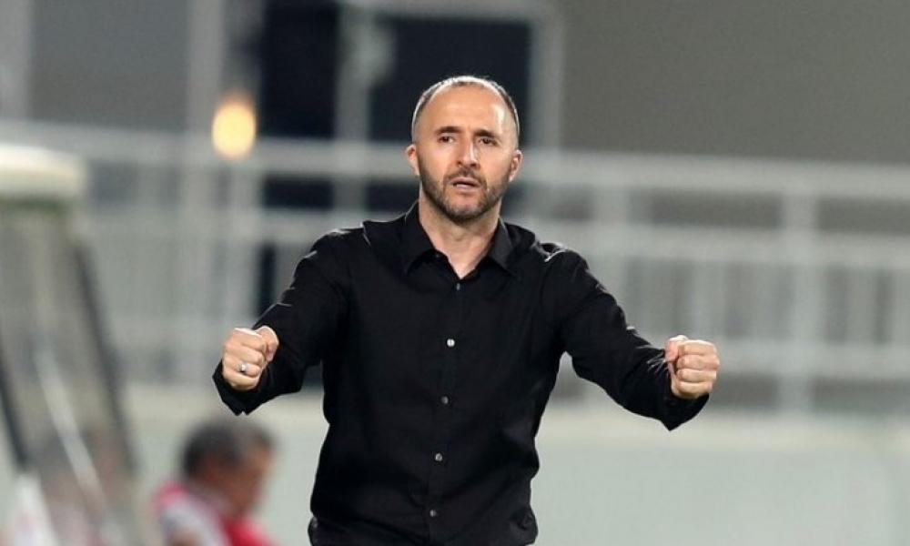 جمال بلماضي: أملك مجموعة مميزة من اللاعبين الجزائريين وهدفنا حصد اللقب