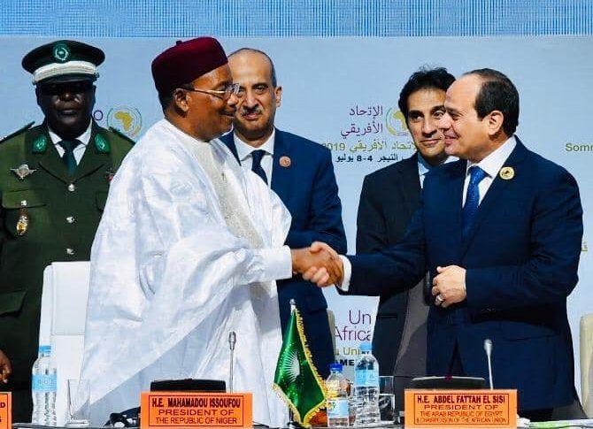 افتتاح القمة الاستثنائية للاتحاد الأفريقى أبرز أنشطة الرئيس السيسي فى أسبوع