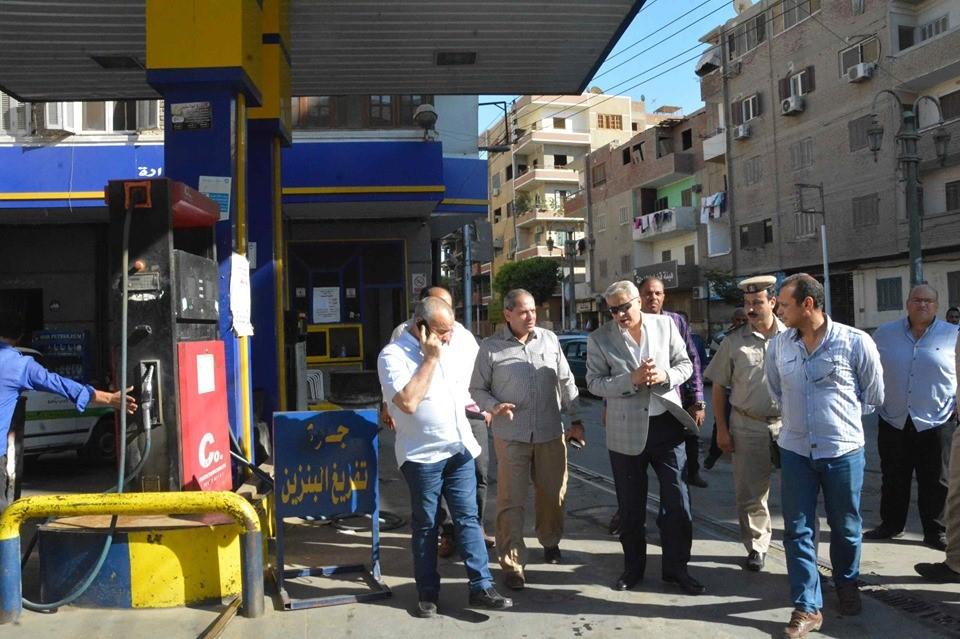 صور | محافظ المنيا يوجه رؤساء الوحدات المحلية والمرور بمتابعة الالتزام بالتعريفة الجديدة