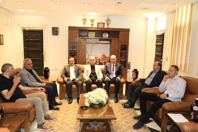 صور | محافظ المنوفية يناقش إمكانية إنشاء مجمع خدمي ترفيهي بمدينة السادات