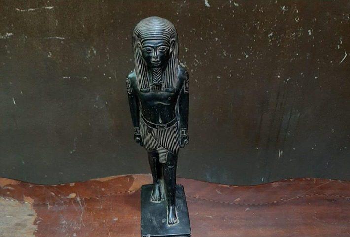 سقوط عناصر تشكيل عصابي استولوا على تمثال فرعوني بالأميرية