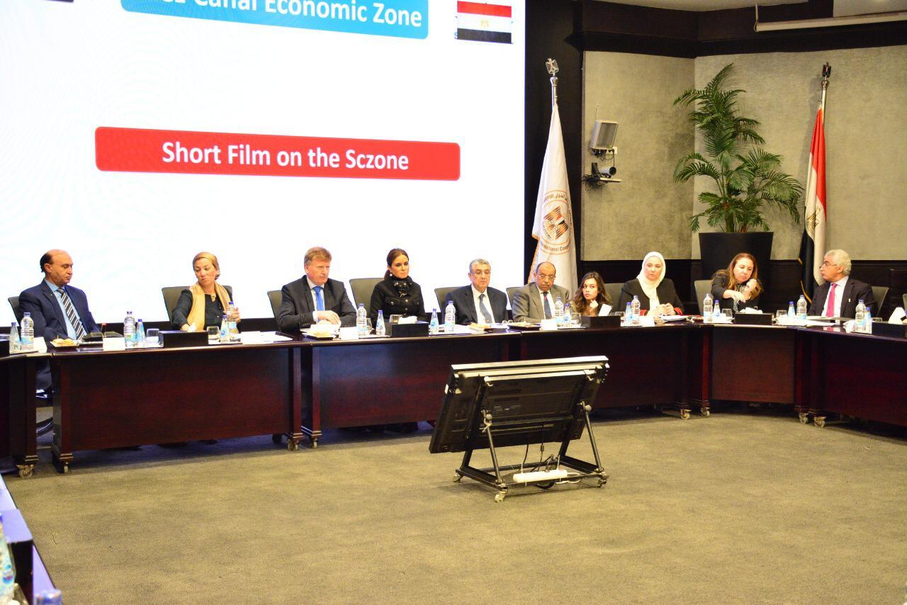 4 وزراء يجتمعون مع سفير الاتحاد الأوروبي لمناقشة المشروعات المستقبلية لعام 2020