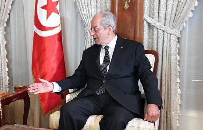 الرئيس التونسى المؤقت يؤكد على دور السلطة القضائية فى إنجاح الاستحقاقات الانتخابية
