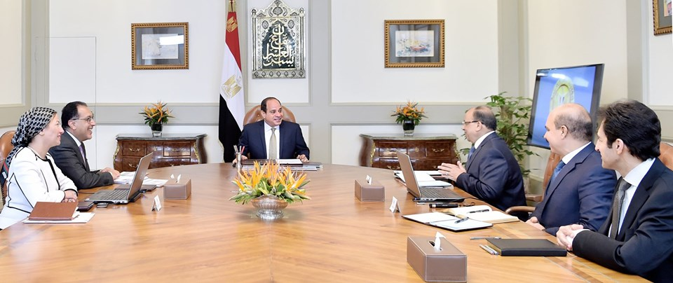 الرئيس السيسي يوجه بدفع الجهود المبذولة لتفعيل منظومة إدارة المخلفات الصلبة