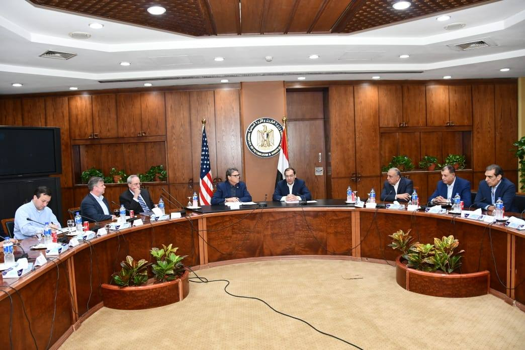 صور| وزير البترول يبحث مع نظيره الأمريكي ترتيبات منتدى غاز شرق المتوسط