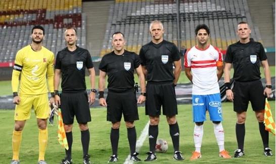التعادل السلبي يحسم نتيجة الشوط الأول بين الأهلى والزمالك في الدوري المصري