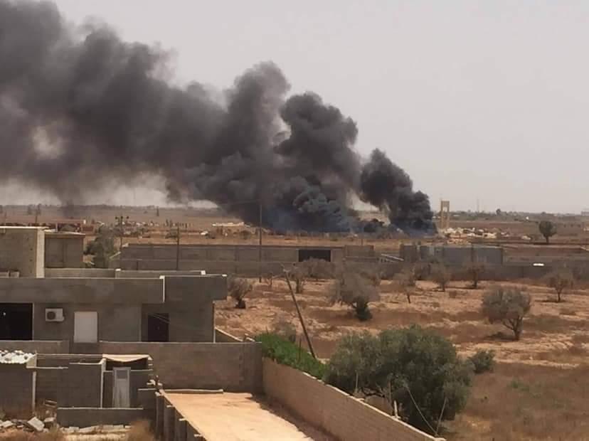 انفجار سيارة مفخخة ببنغازي يسفر عن إصابة 8 أشخاص
