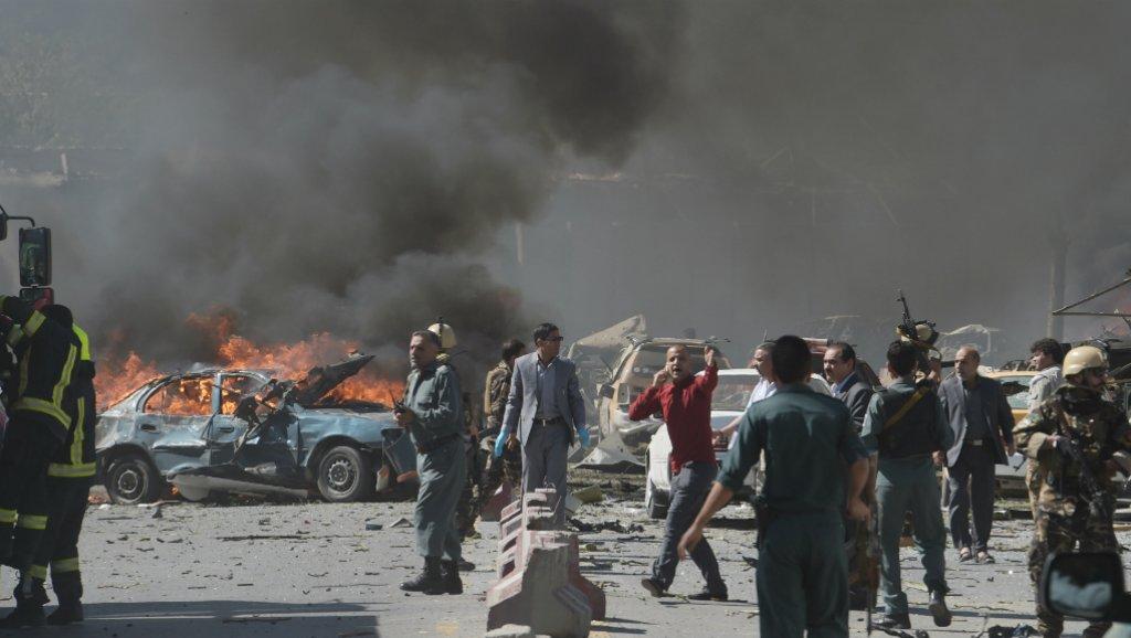 """مقتل 7 من رجال الشرطة الأفغانية فى انفجار سيارة مفخخة بمدينة """"غازنى"""""""