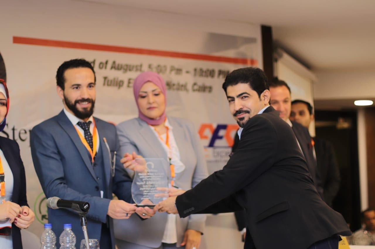 صور  تكريم سلطان الحميد عضو جمعية إعلاميون السعودية في المؤتمر الدولي لريادة الأعمال
