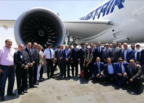 مصر للطيران: أولي رحلات طائرة الاحلام إلي بكين الأحد المقبل