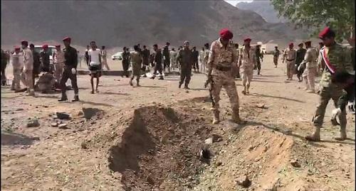 سيارة مفخخة تستهدف مركزا للشرطة في عدن