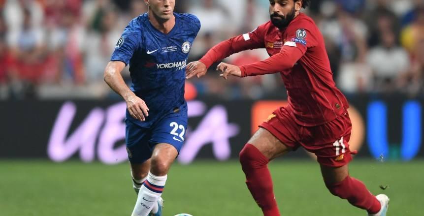 جورجينهو يتعادل لتشيلسي في مرمى ليفربول بمباراة السوبر الأوروبي