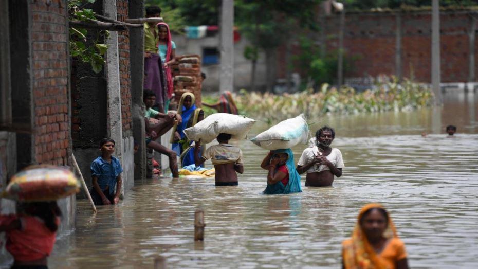 ارتفاع حصيلة ضحايا الفيضانات شمال الهند إلى 70 قتيلا