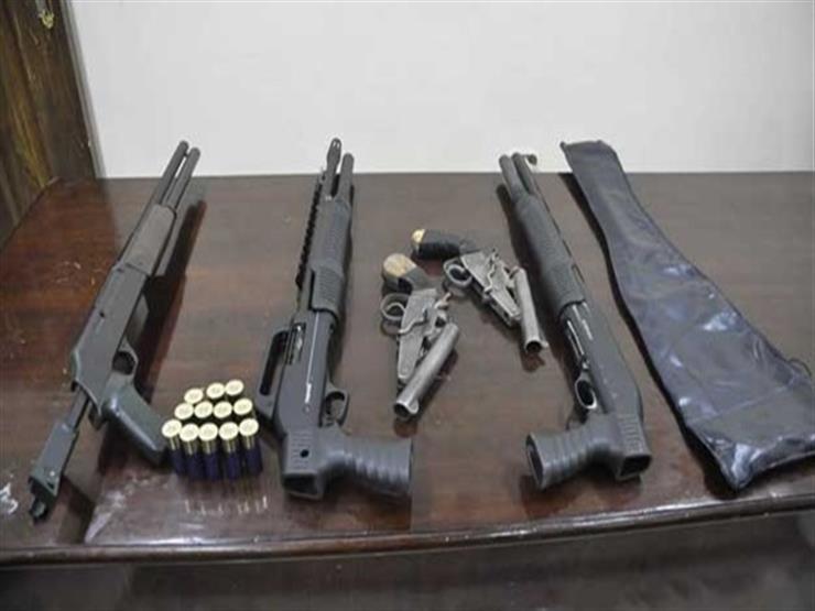 ضبط مجرم بالمطرية لقيامه بتصنيع الأسلحة النارية