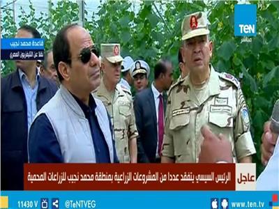 اللواء محمد عبدالحي: مشروع الصوب الزراعية يحقق توازن في الأسعار بالسوق المصري