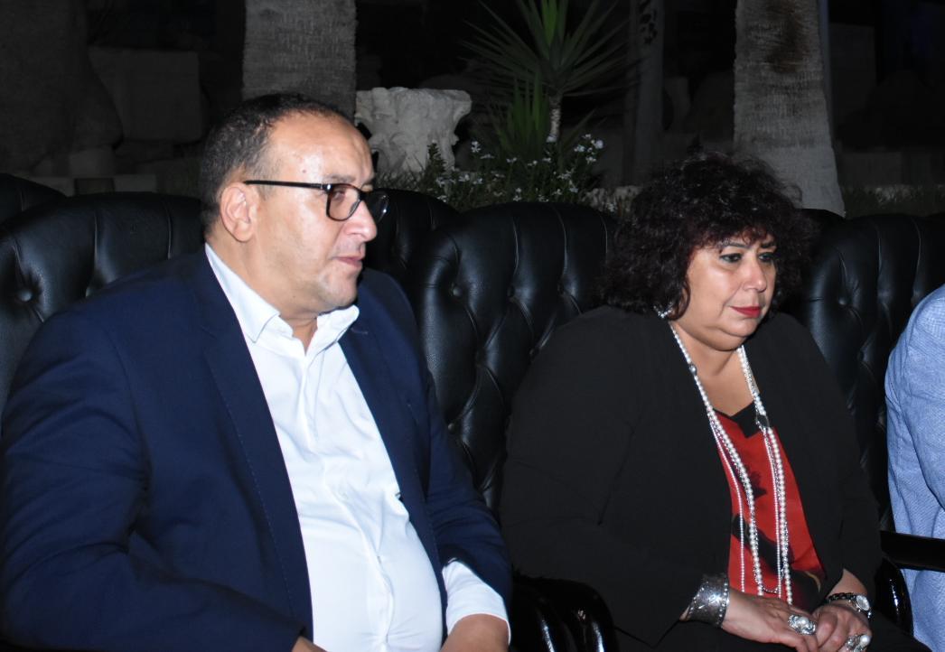 وزير الثقافة ورئيس الأوبرا يفتتحا مهرجان مسرح سيد درويش بالأسكندرية