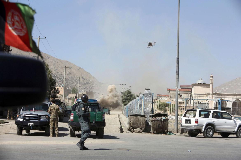 سيارة مفخخة تستهدف قاعدة لقوات الأمن الأفغانية في إقليم قندهار