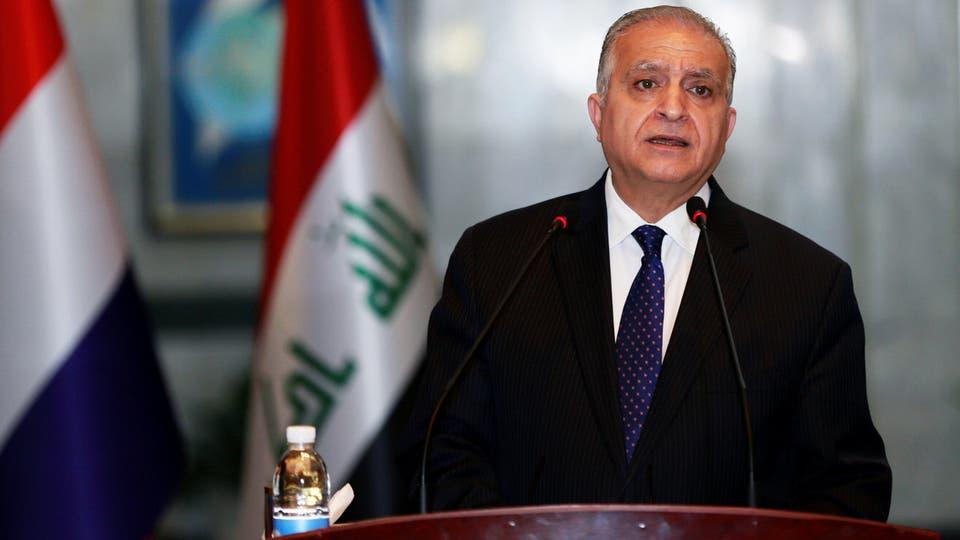 وزير الخارجية العراقى يؤكد دعم بلاده ومساندتها للقضية الفلسطينية