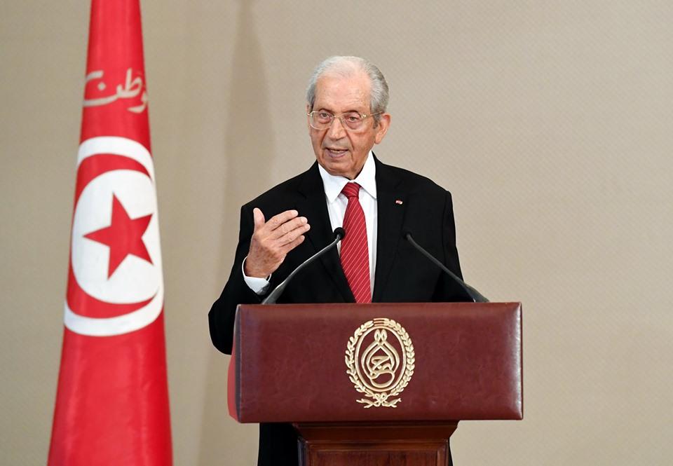 الرئيس التونسى المؤقت يشدد على اليقظة والجاهزية لمواجهة أى تهديدات