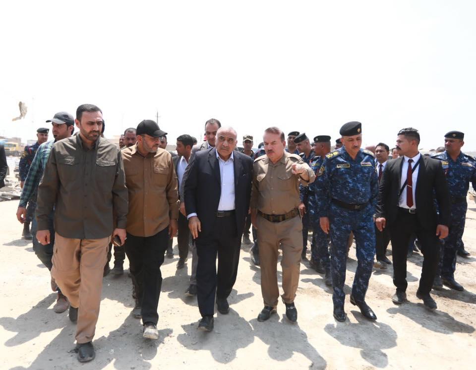 رئيس الوزراء العراقي يوجه بتأمين جميع المعسكرات ومخازن الأسلحة