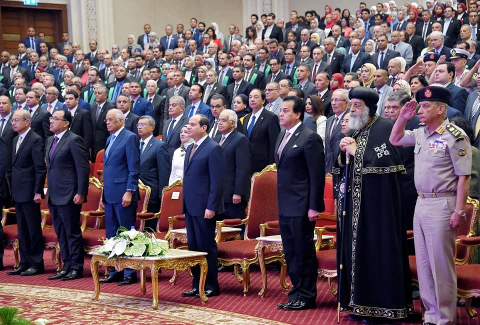 تكريم الرئيس السيسي للعلماء يتصدر عناوين الصحف المصرية