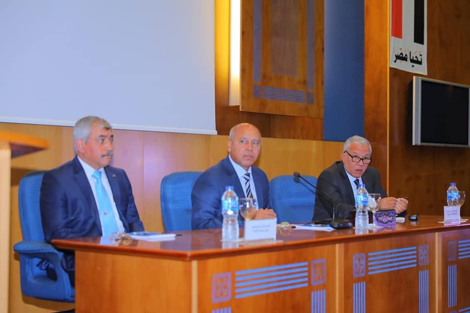 صور | كامل الوزير : ربط الحوافز بالإنتاج وقطاع النقل يجب أن يكون قاطرة التنمية في مصر