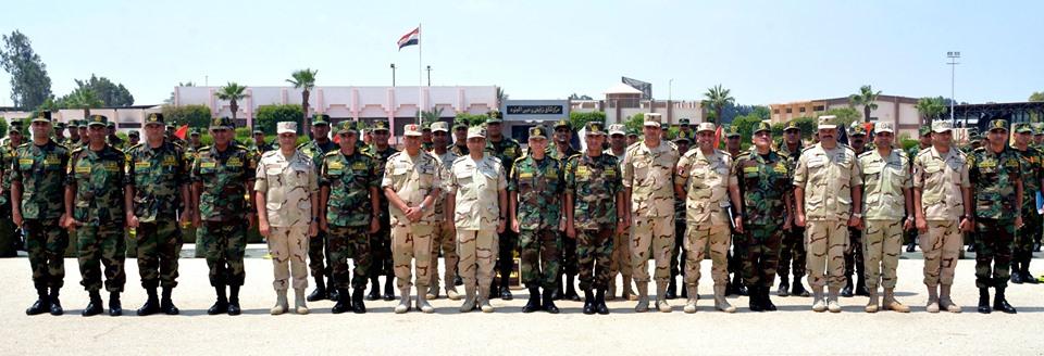 عناصر من القوات المسلحة تغادر إلى روسيا للمشاركة في تدريب «حماة الصداقة 4»