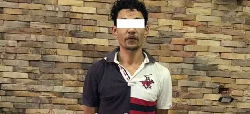 ضبط أحد العناصر الإجرامية بالقاهرة بحوزته كمية من مخدر الحشيش بقصد الإتجار