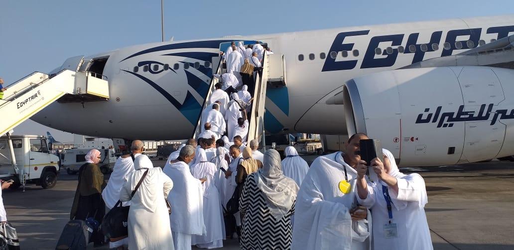 رئيس بعثة الحج بالتضامن : استمرار رحلات عودة الحجاج لأرض الوطن لليوم الثاني