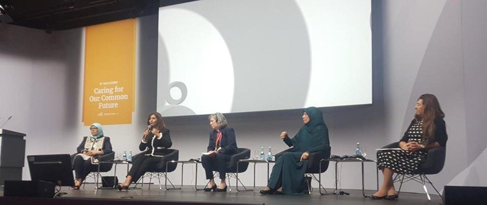 وزيرة الهجرة : المرأة المصرية تلعب دورا محوريا في تقدم المجتمع
