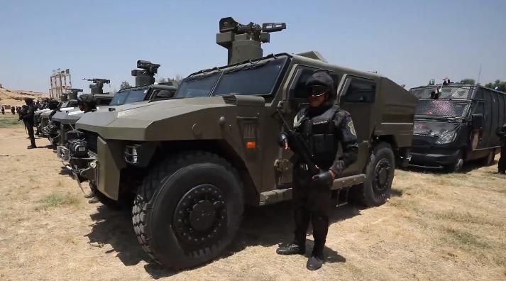 الداخلية: مصرع 6 عناصر إرهابية بحوزتهم أسلحة ومتفجرات بشمال سيناء