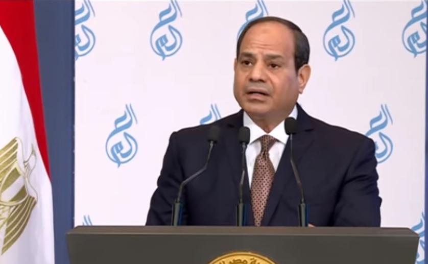 الرئيس السيسي : ننتهج سياسة تأهيل الجامعات ومصر الجديدة تولي أهمية لبناء الإنسان