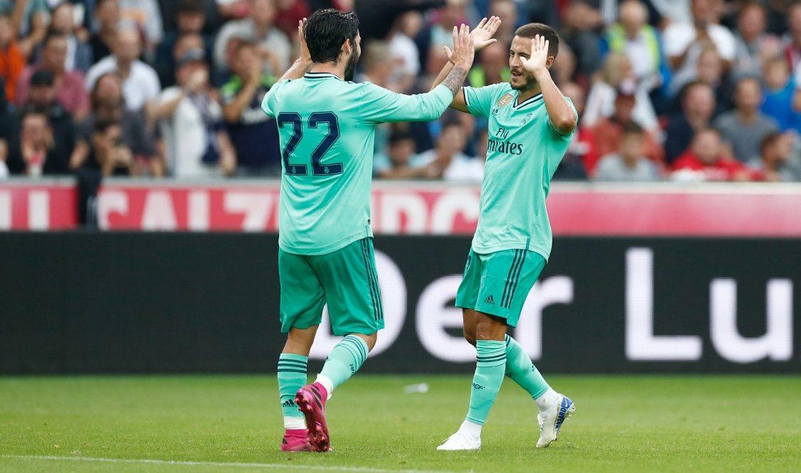 هدف هازارد بقميص ريال مدريد يتصدر اهتمامات الصحف الإسبانية