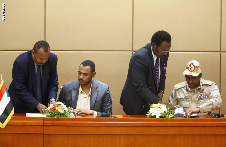 أبرز بنود الإعلان الدستورى فى السودان بعد التوقيع بالأحرف الأولى