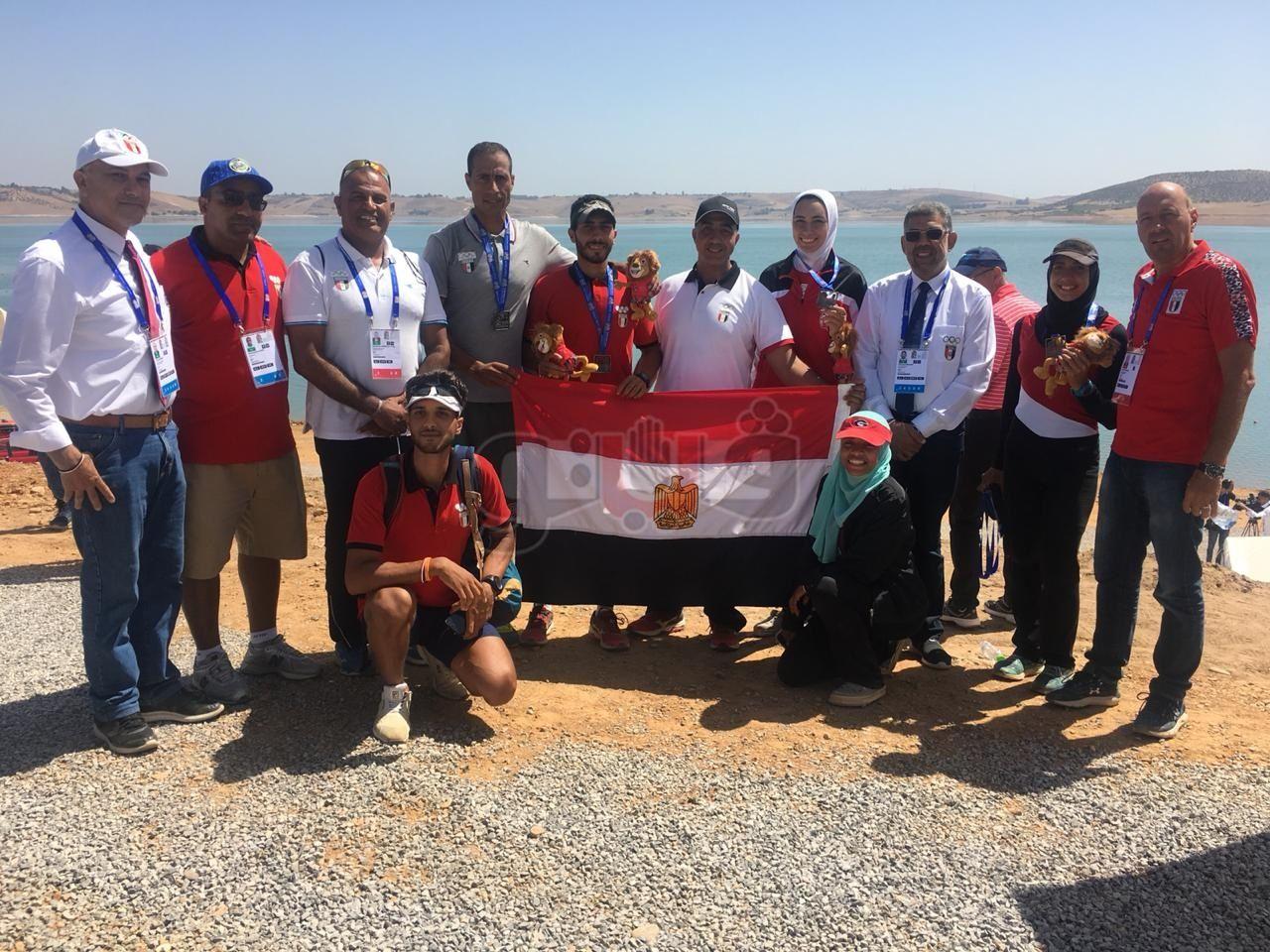 بعثة منتخب مصر لرفع الأثقال تغادر إلى المغرب للمشاركة في دورة الألعاب الأفريقية