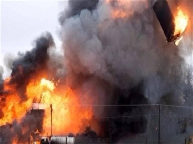 عاجل.. انفجار بمخزن عتاد للحشد الشعبي في قاعدة بلد الجوية بالعراق