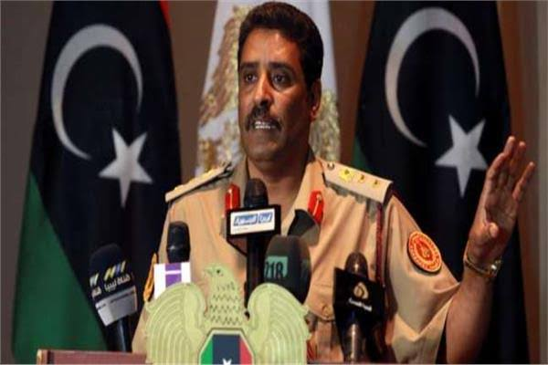 """""""المسماري"""": الجيش الليبي يدمر منظومة الدفاع الجوية التركية بمصراتة"""