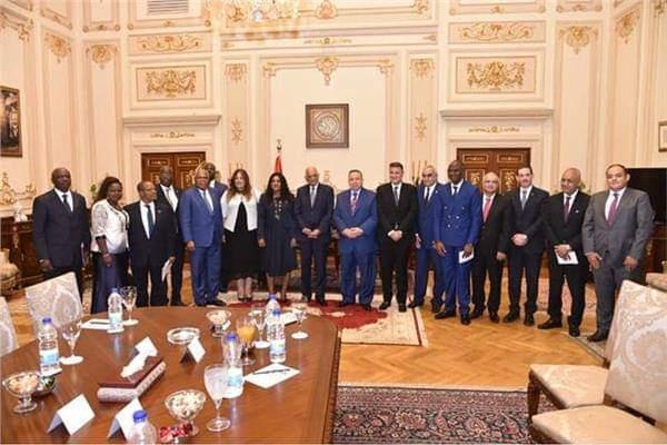 """""""عبد العال"""" لرئيسة برلمان توجو: الاهتمام بالشباب الأفريقي محور رئيسي للسياسة المصرية"""