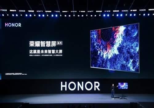 أونر تطلق أول تلفزيون ذكي بنظام تشغيل HarmonyOS
