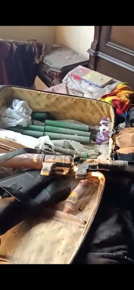 مقتل الإرهابي عمرو أبو الحسن وضبط كميات من الأسلحة الثقيلة بالمطرية