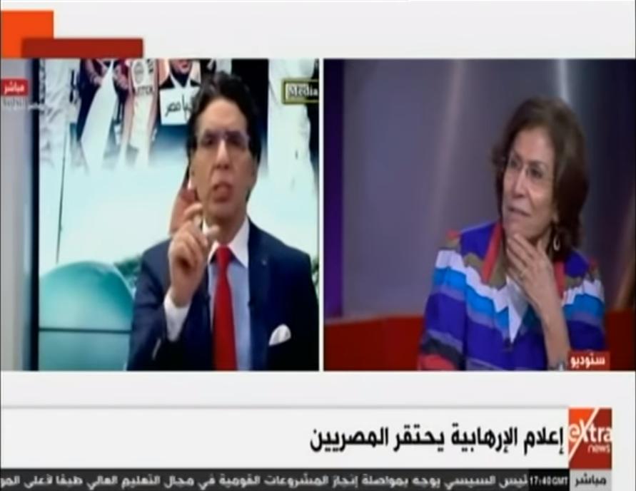 فيديو| فريدة الشوباشي لمحمد ناصر: لو دكر تعالى وأعمل ثورة بس أنت حقير وجبان