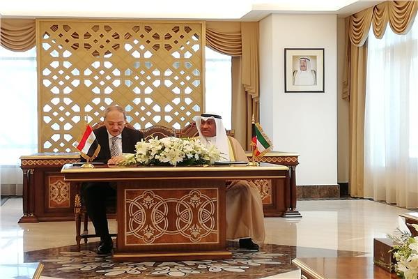 النائب العام ونظيرة الكويتي يوقعان مذكرة تفاهم للتعاون القضائي بين البلدين