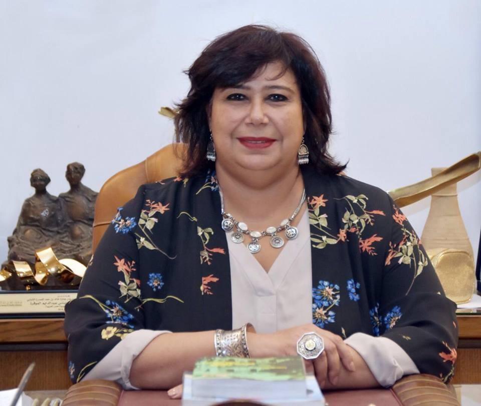 وزير الثقافة تفتتح اول منفذ دائما لـ هيئة الكتاب بجامعة ومحافظة بني سويف