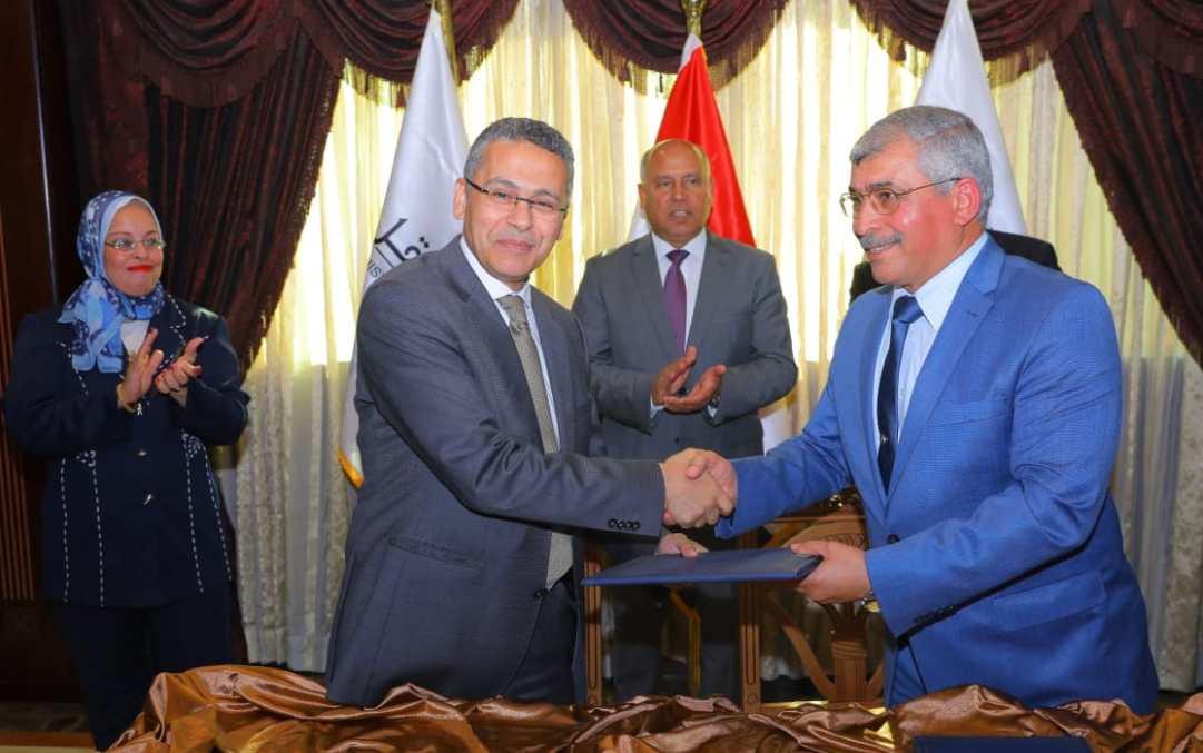 بروتوكول تعاون بين ميناء الإسكندرية وبنك مصر لتحصيل المدفوعات الإلكترونية للخدمات
