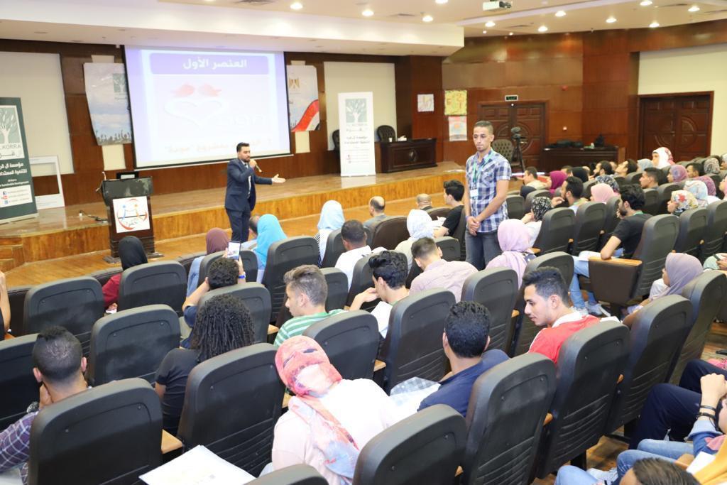 صور| مودة تنظم ورشة عمل بالملتقى السنوى للشباب بشرم الشيخ