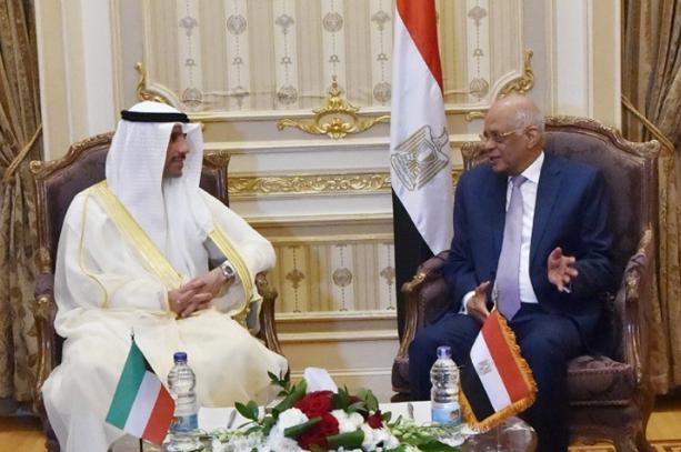 صور| علي عبد العال يستقبل رئيس مجلس الأمة الكويتي