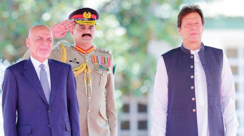 الرئيس الأفغانى يبحث مع رئيس الوزراء الباكستانى عملية السلام بأفغانستان
