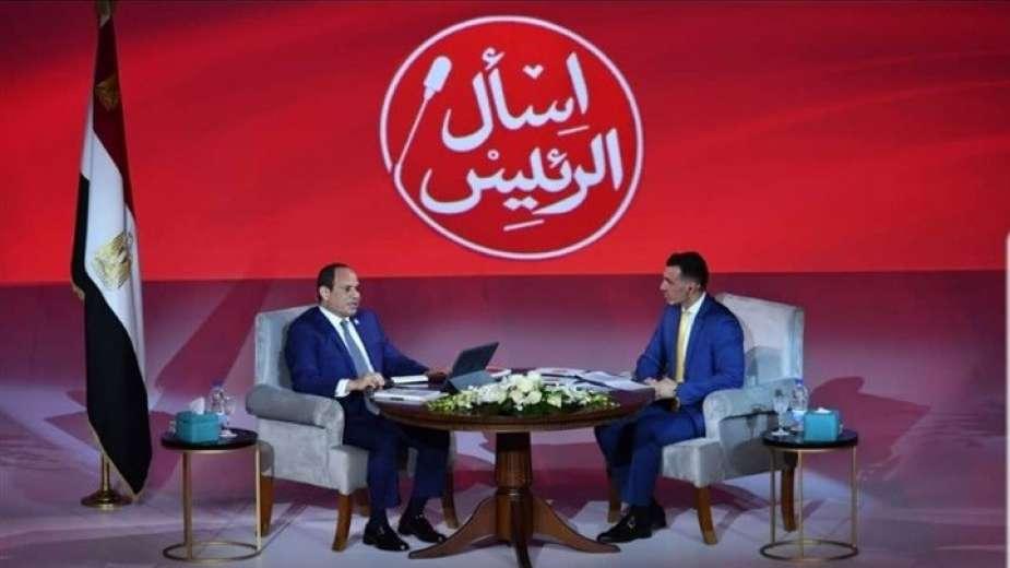 رامى رضوان: 435 ألف سؤال في مبادرة «اسأل الرئيس» والقاهرة الأعلى مشاركة